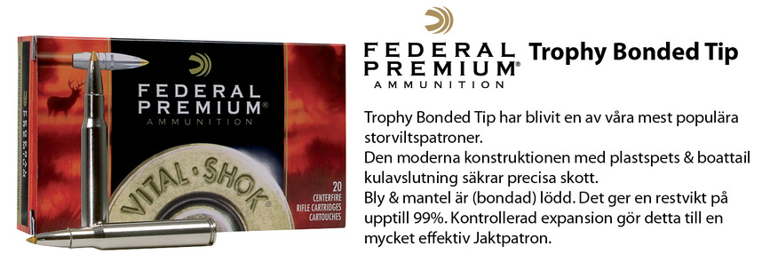 Federal Trophy Bonded Tip