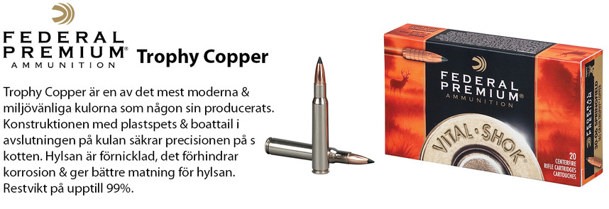 Federal Trophy Copper